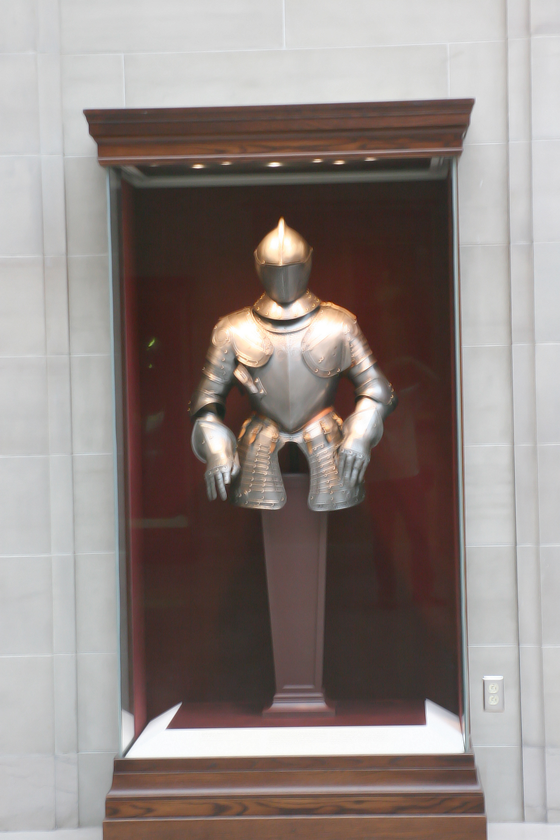 Warrior wear display