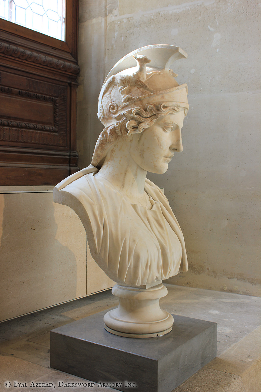 The Louvre Museum Statue-2