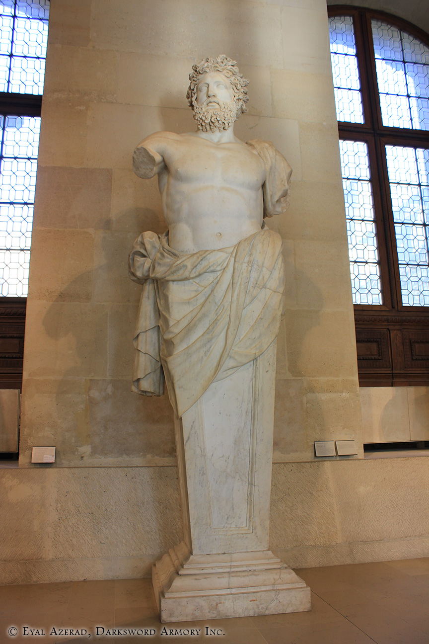 The Louvre Museum Statue-3