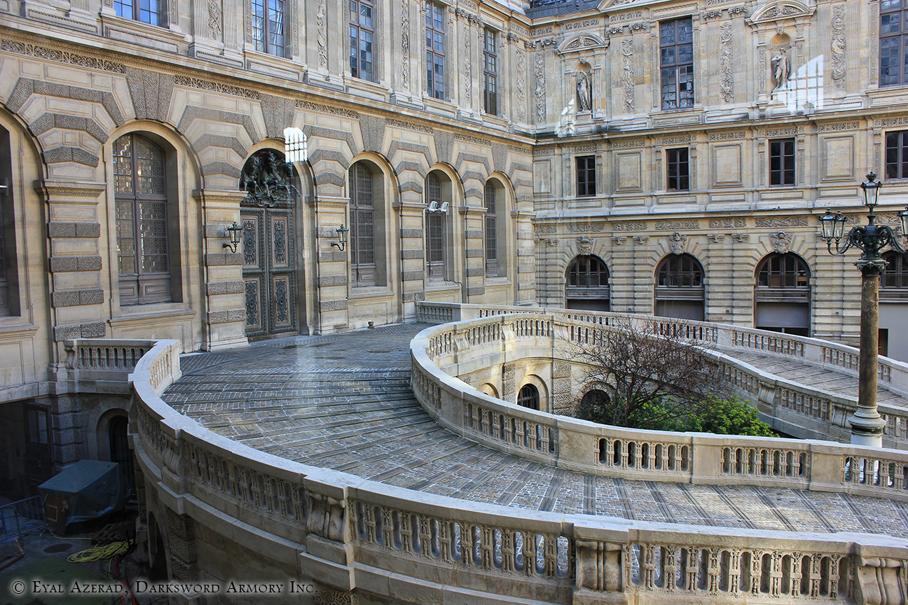 The Louvre Museum Outside
