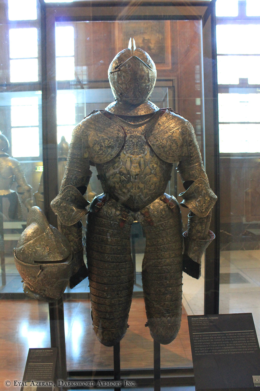Old armor statue