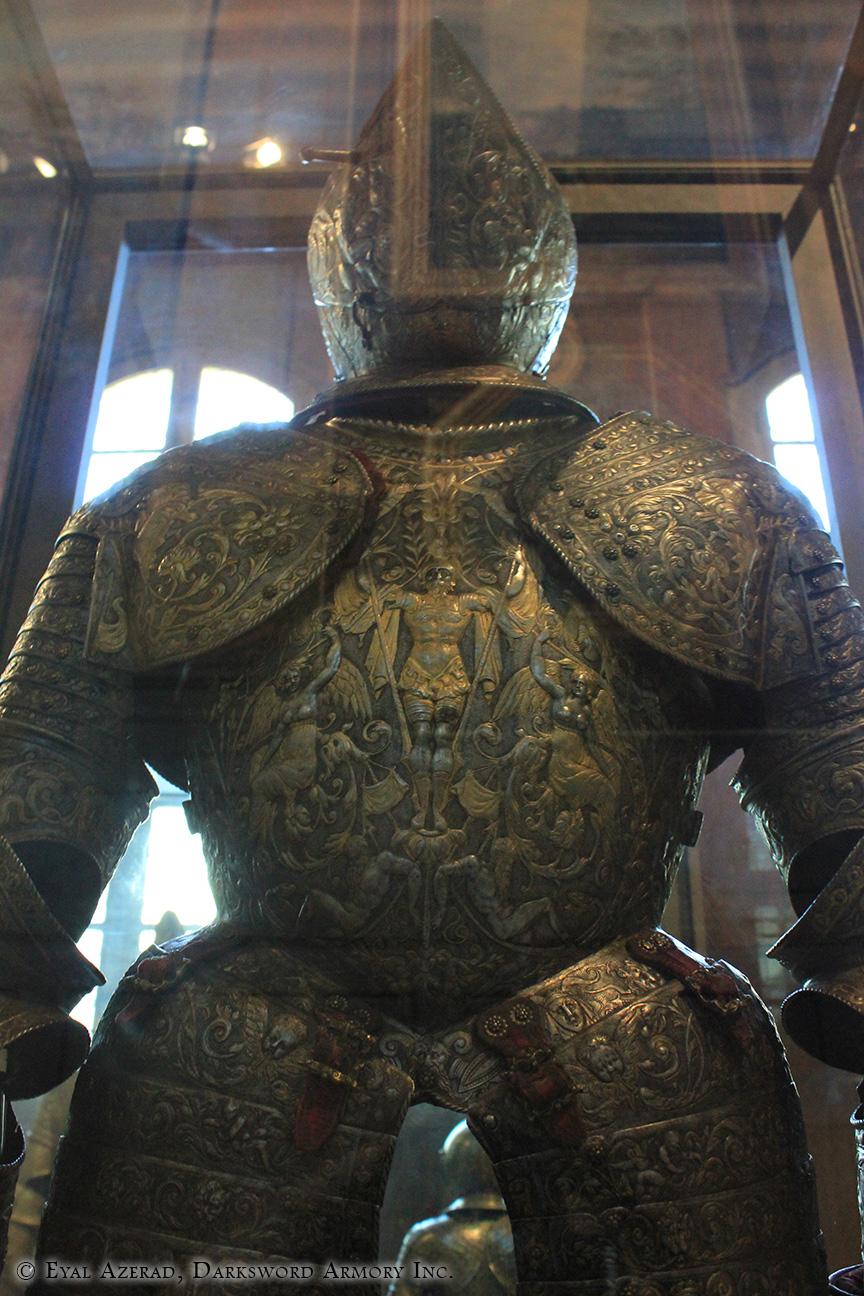 armor statue