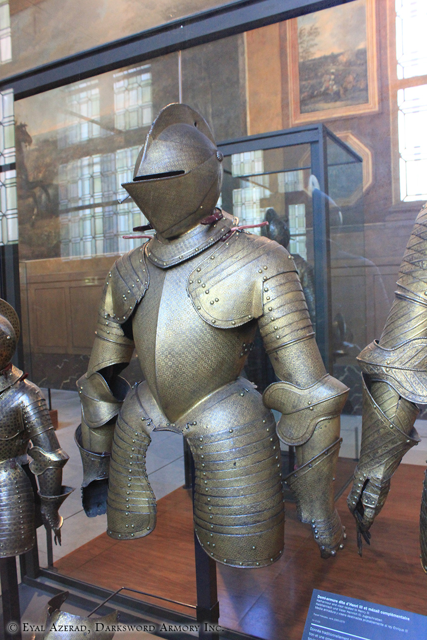 Warriors Helmet and Statue