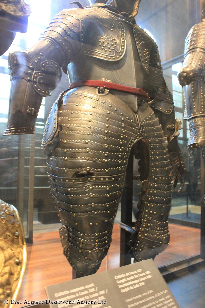 Armor worn lower