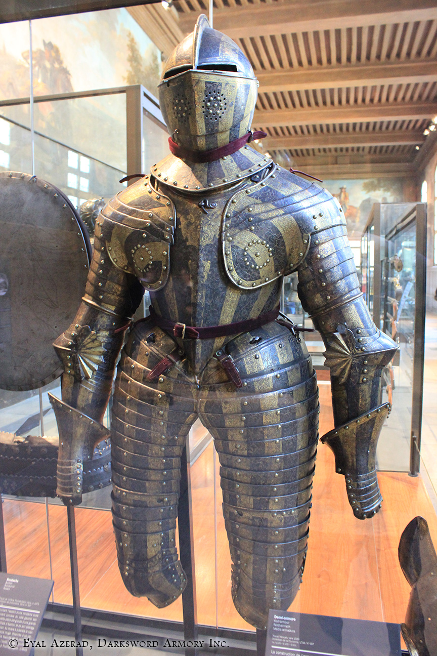 power armor statue lower