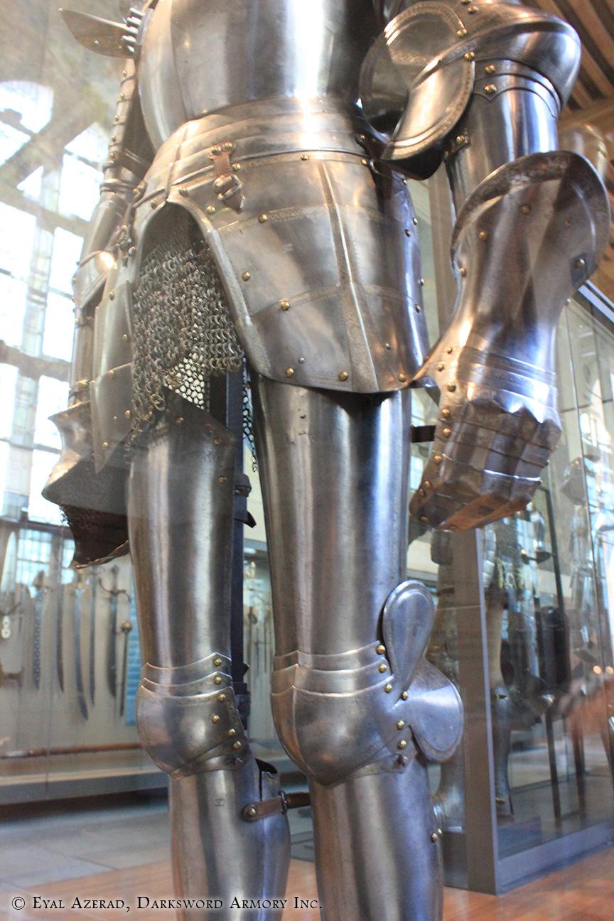armor legs dress