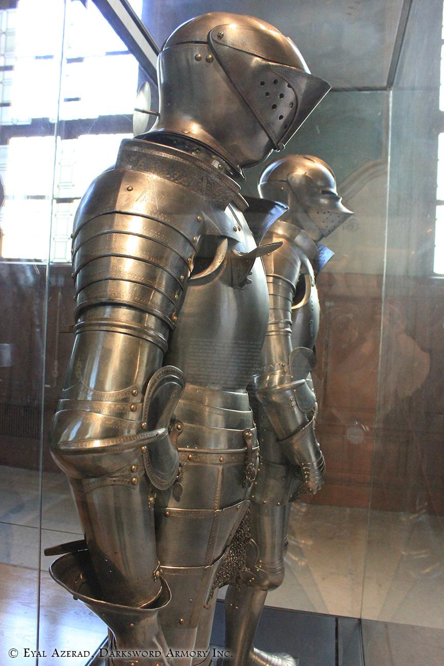 knight armor half  dress