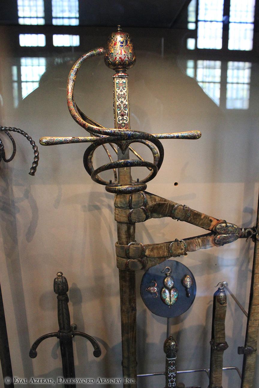 medieval swords hanger-1