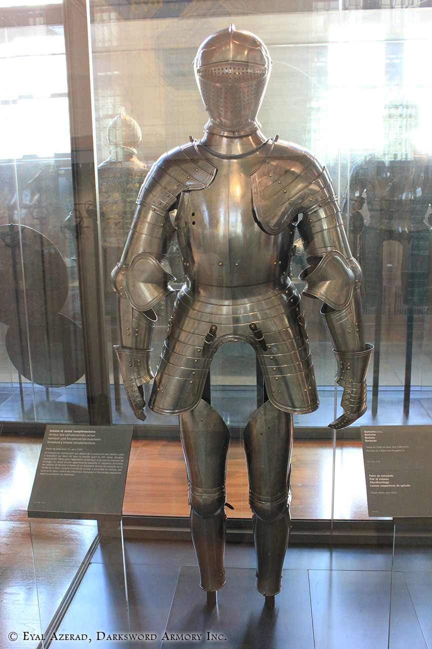 medieval upper body armor