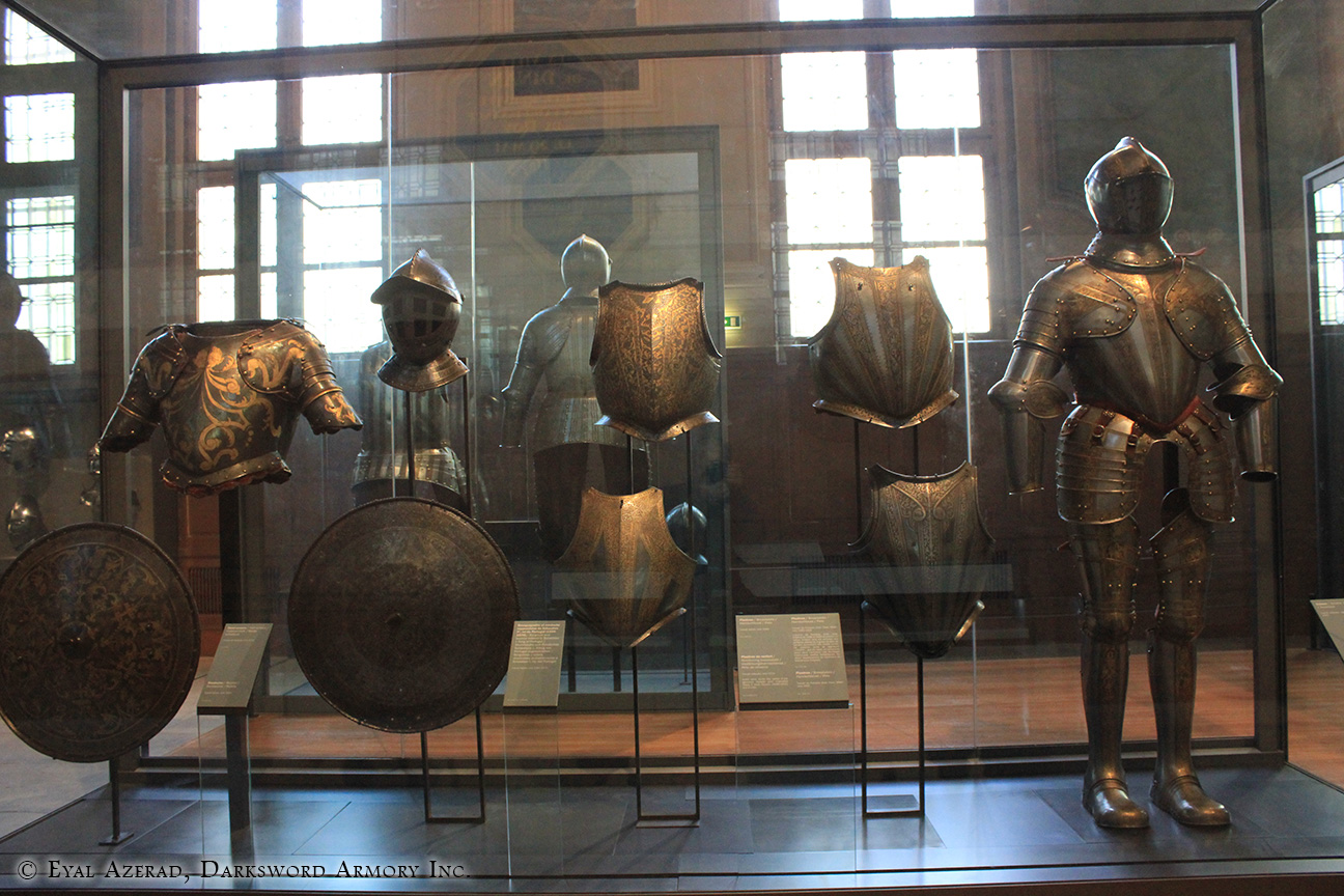 medieval armor statue dress and Parts