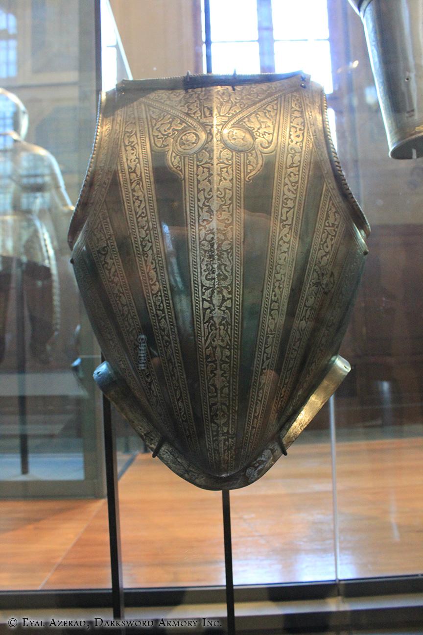 medieval armor vest coat