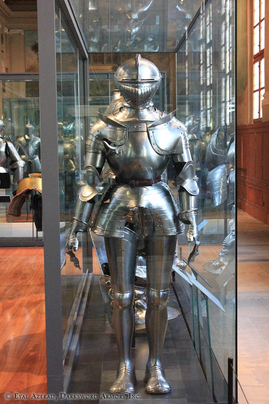 medieval armor statue dress
