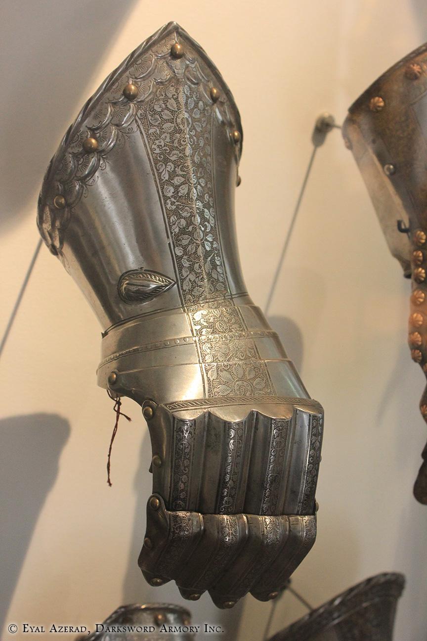 Medieval Armor Hand