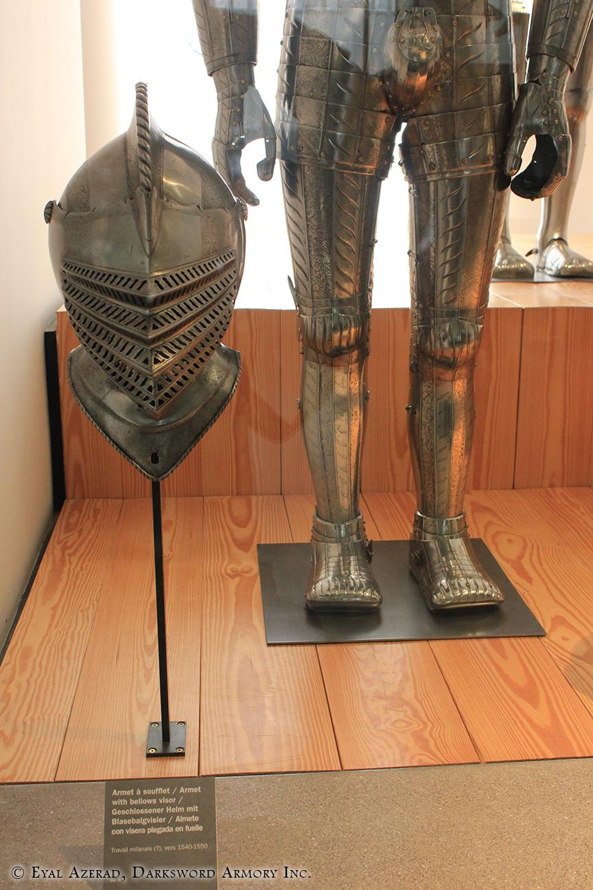 Medieval Armor Lower Body & Helmet