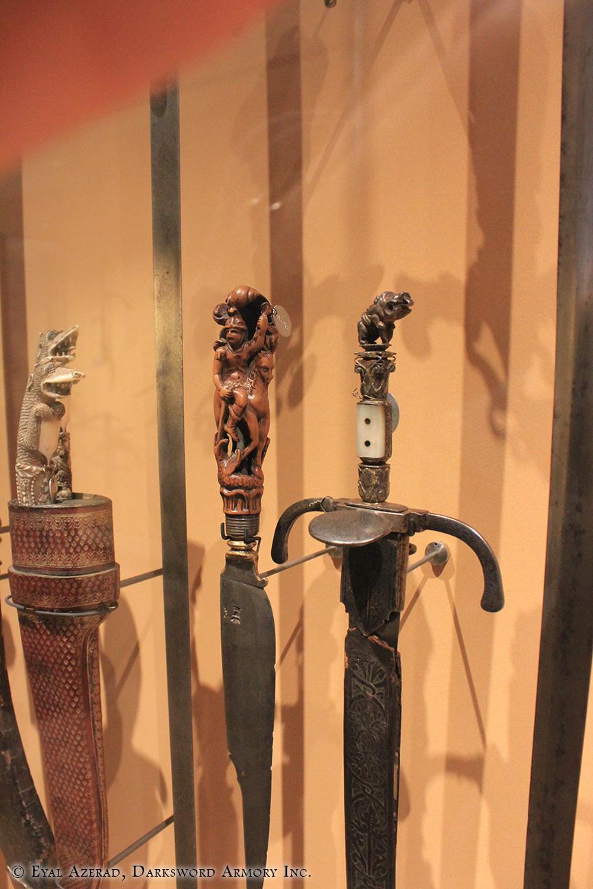 Medieval Figurine Sword