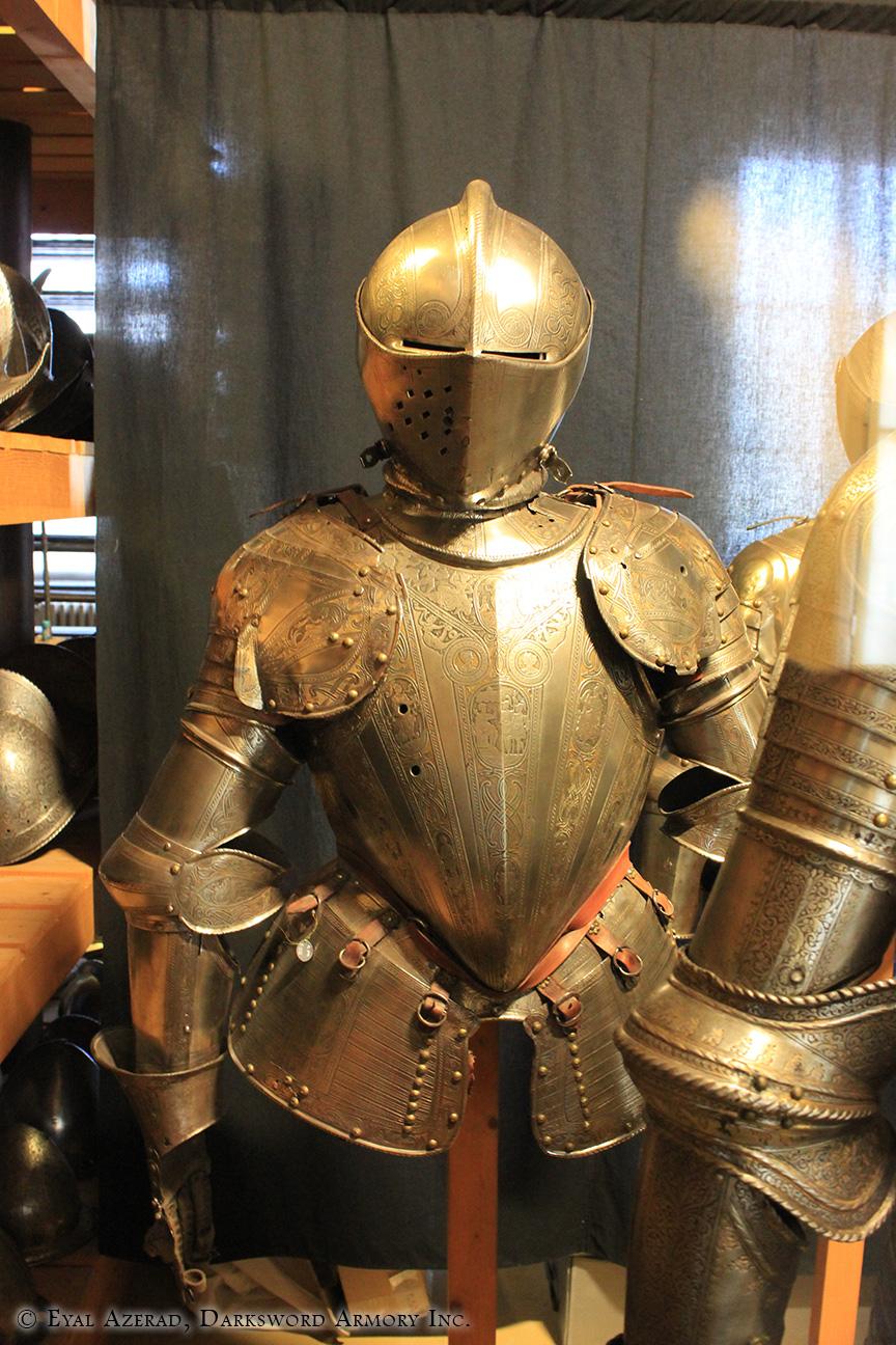 medieval armor upper body