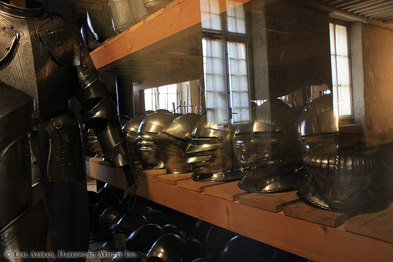 armor helmets