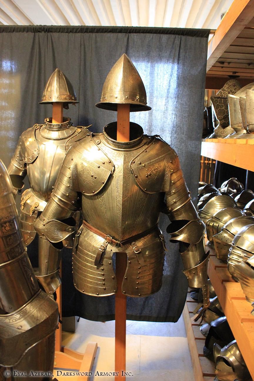 medieval armor lower body
