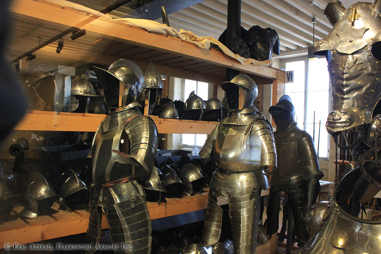 different medieval armors