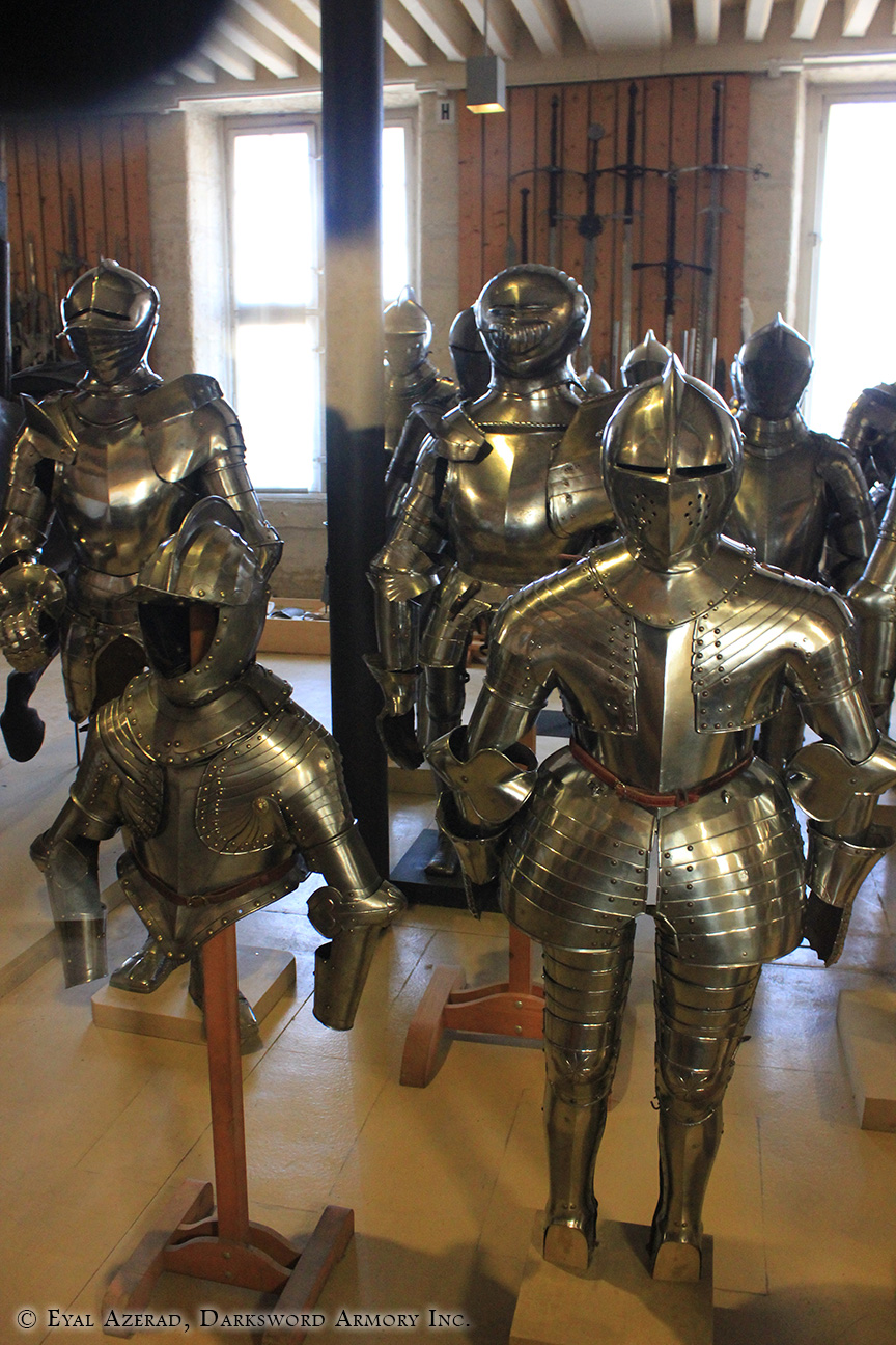 different medieval armors -2