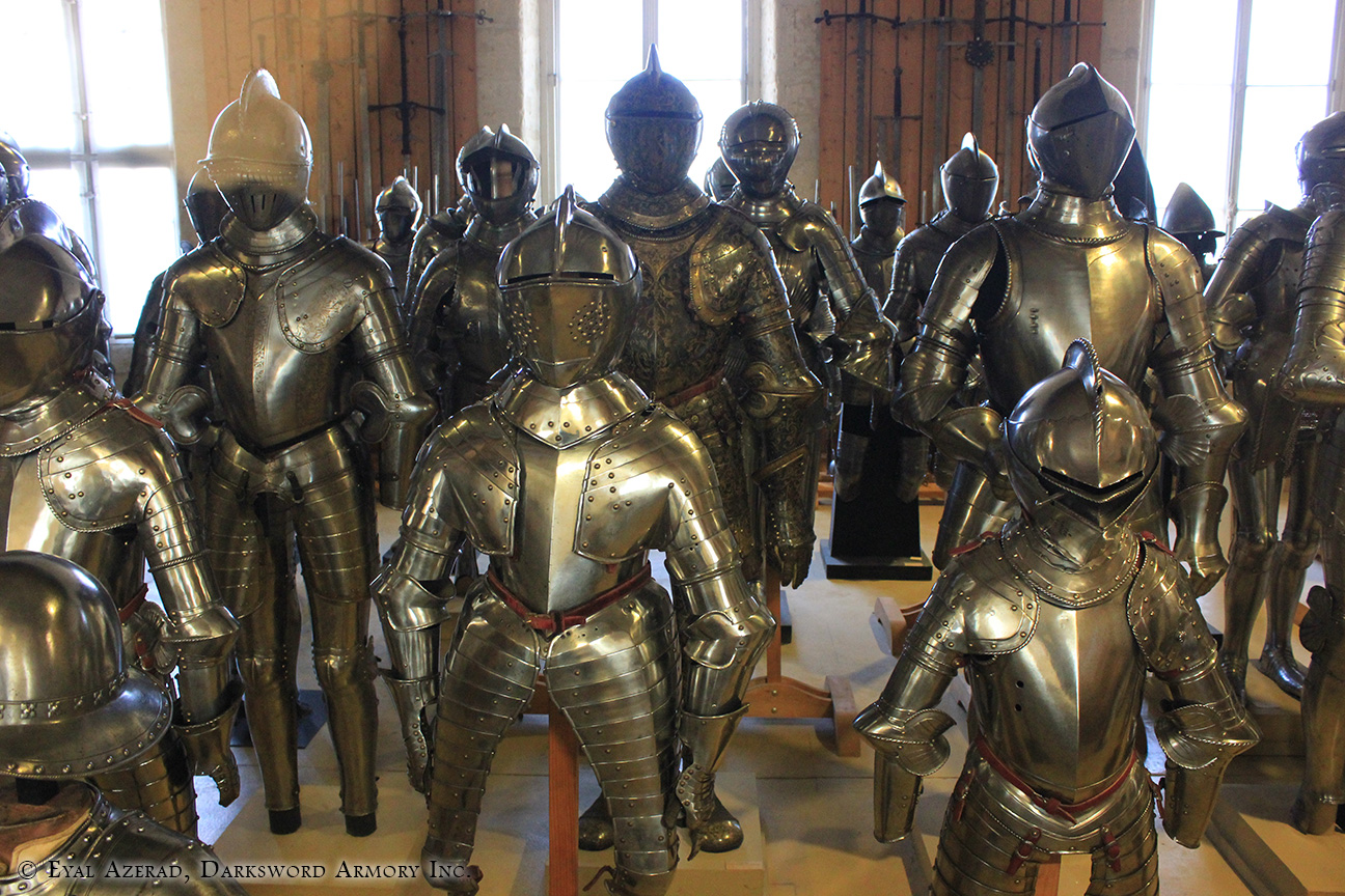 different medieval armors -6