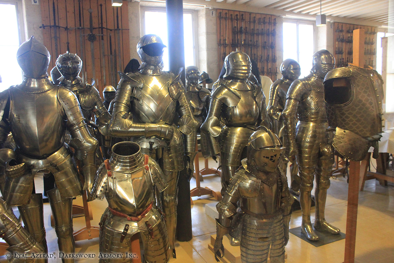 different medieval armors -9