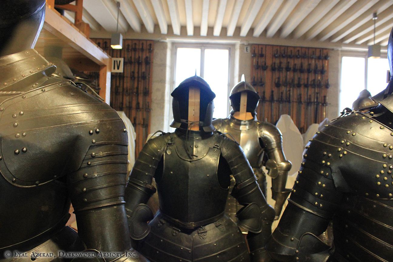 medieval Knight Armory