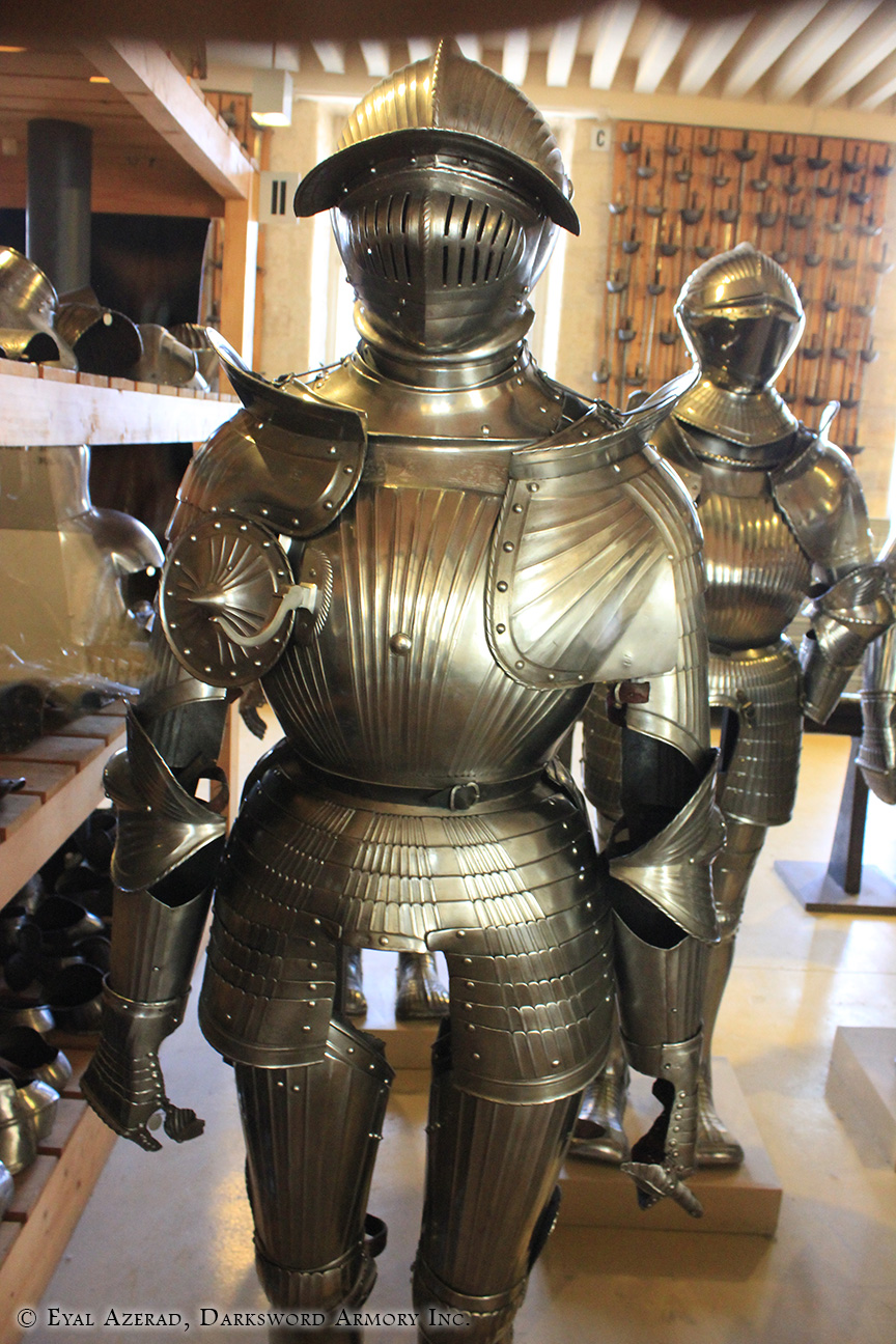 lower medieval armor