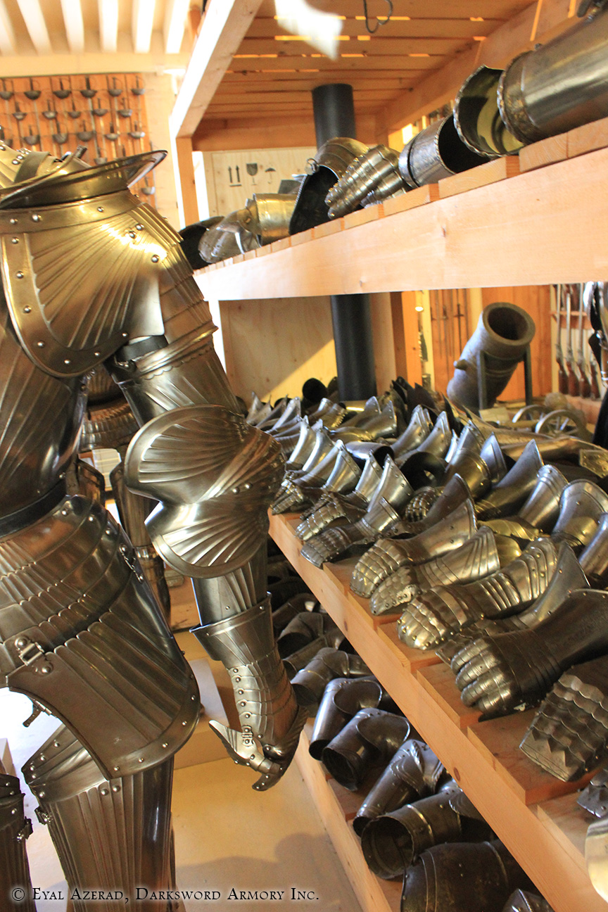 medieval armor store