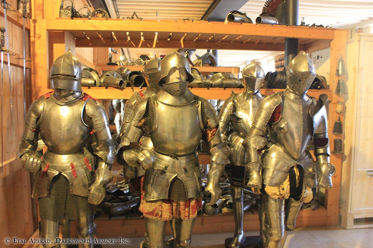 various medieval knights