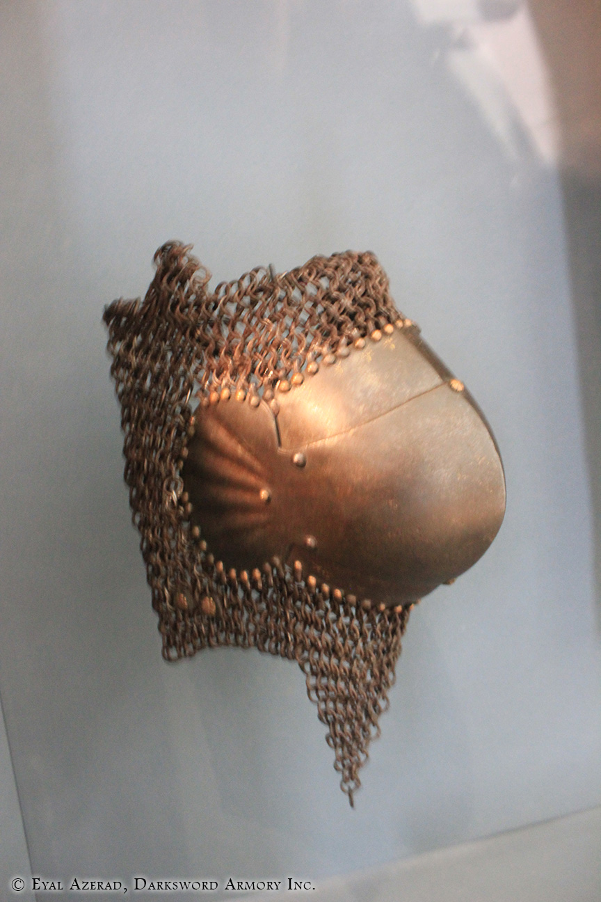 Helmet For Warriors With Chains
