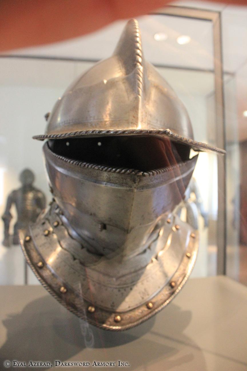 medieval military helmet