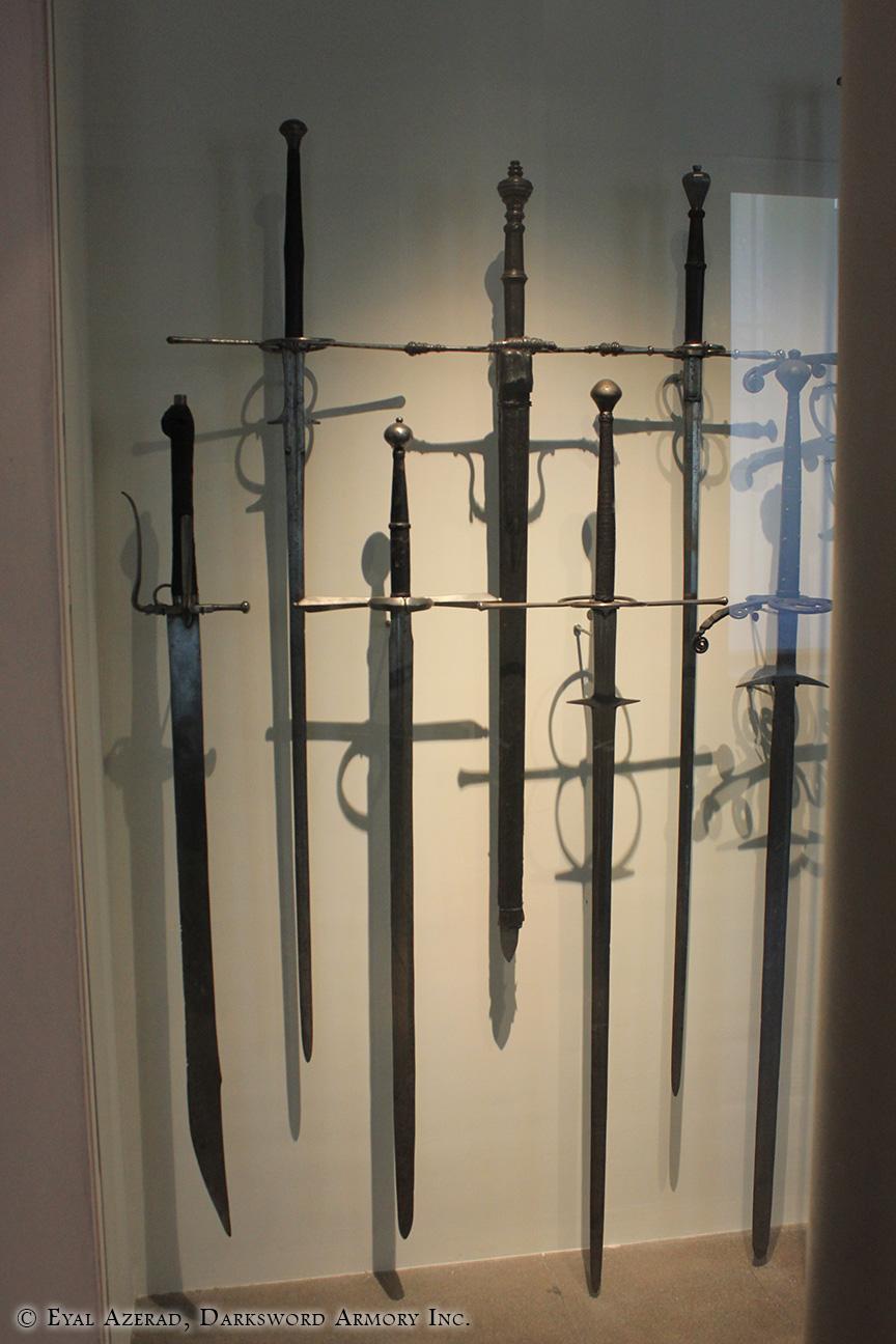 Handmade armor swords