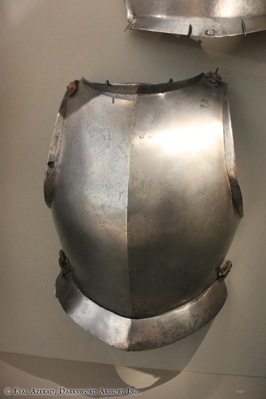 battle-ready suit of armor