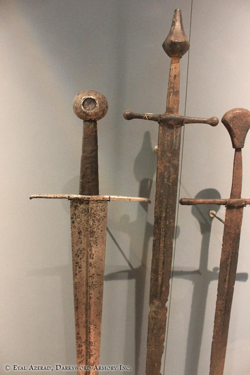 3 Medieval Swords Armor