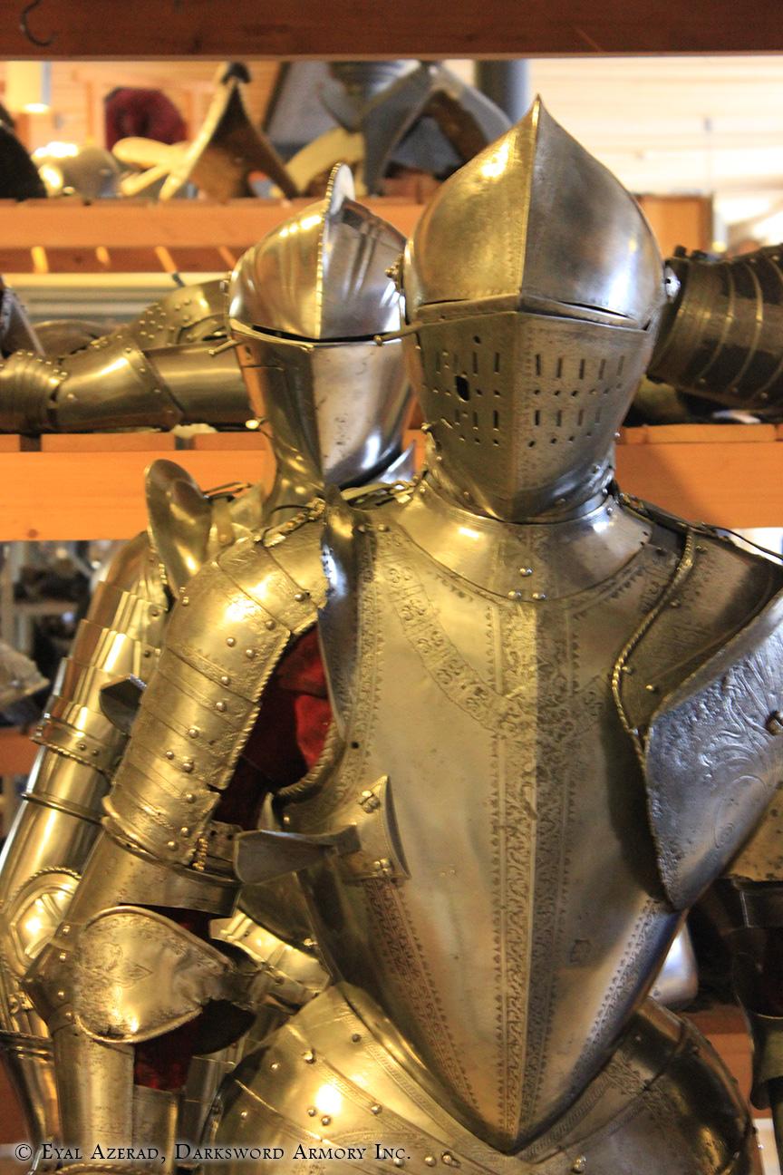 medieval reenactment armour