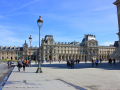The Louvre Museum Outside View