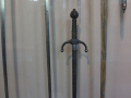Medieval armory sword