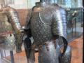 medieval upper body armor + helmet