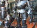medieval armor statue dress1