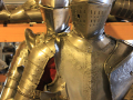 medieval reenactment armour