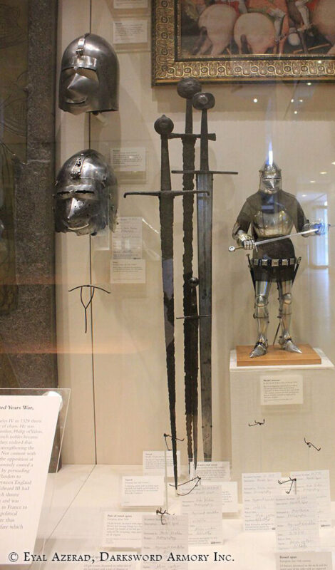 arming-swords-leeds-royal-armory-museum-black-prince-sword
