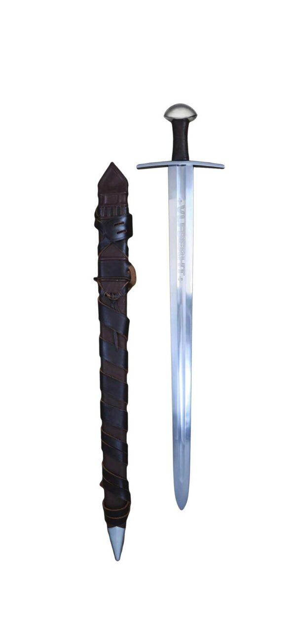 ulfberht-2208-medieval-sword-herald-series-darksword-armory-scabbard-belt