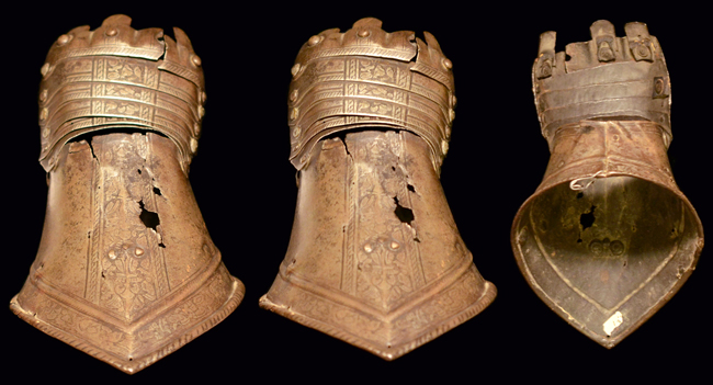 16th C. italian gauntlets An examination of a pair of 15th Century German Gauntlets
