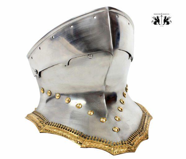 1725-German-Sallet-medieval-helmet-3