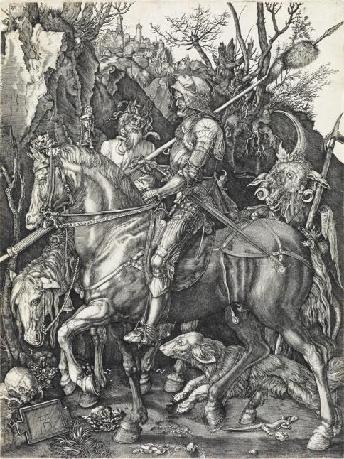 Durer-The-Knight-gothic-sword