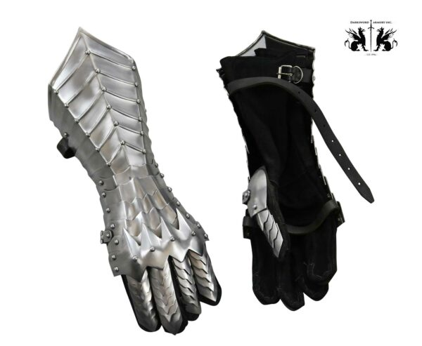 nazgul-gauntlets-silver-mild-steel-medieval-armor-lord-of-the-rings-lotr