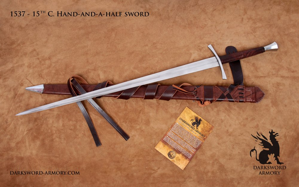 15th Century Hand and a Half sword (#1537) - Darksword Armory