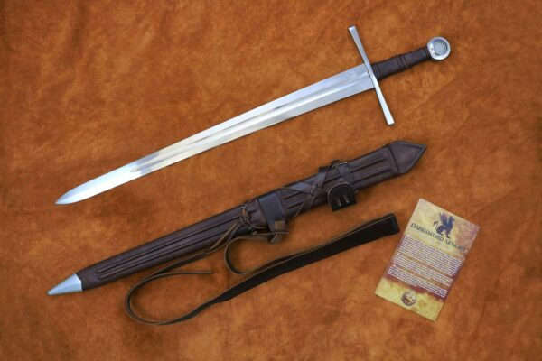 crusader-sword-medieval-weapon-templar-1303-darksword-armory--birds-eye-view-scabbard