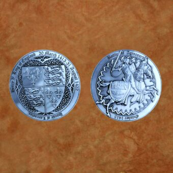 satin-silver-battle-of-agincourt-henry-v-medieval-collectible-battle-coin